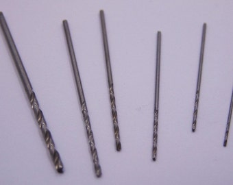 6 Piece Crafters Drill Bit Set Great For Hand Drills And Small Jobs