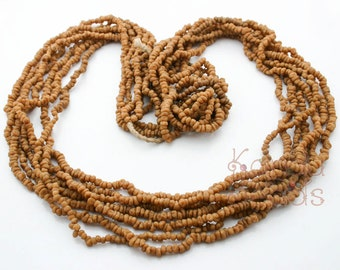 African Aromatic Natural Myrrh Beads, Scented natural beads (ready to wear)