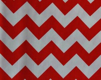 Riley Blake Medium Chevrons Red