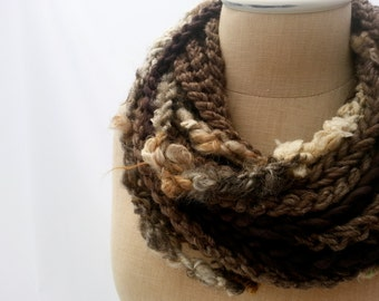 Cliff Rock Luxe Loop Scarf