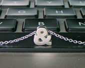 Tiny Ampersand Necklace - Choose from gold or silver!