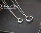 Mom & Daughter matching Love necklace set