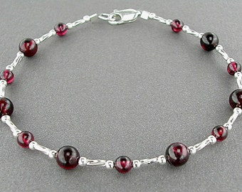 "Shop ""garnet jewelry"" in Bracelets"