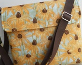 """The """"MADISON""""....Cross Body Messenger Bag...with Adjustable Strap and Flap Closure"""