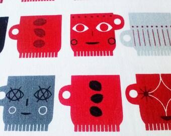 Metro Cafe Robert Kaufman Fabric - Cotton - Screen Print D#10761 - 1/2 yard x 45in wide