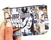 Graffiti Mini Coin Purse - Street Art L.A. Arts District purse / case / bag