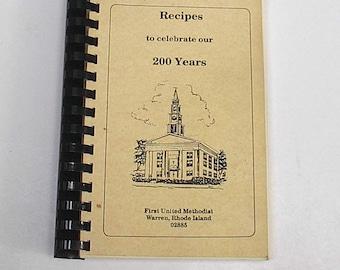1990 Church Recipe Book