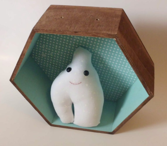 Small Happy Stuffed Pair of Lungs