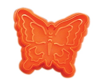 """Butterfly Pastry fondant or cookie cutter with plunger stamp insect 2.75"""""""