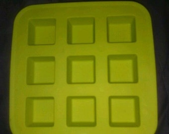 Square Silicone Mold Ice Jello Soap Candle Wax Melt Bath Bomb Candy Chocolate