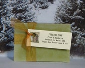 FEELING PINE Soap - Pine & Bayberry Mens Soap - Handmade Natural Soap