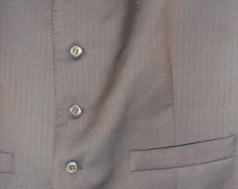 "Steampunk Brown 2 pocket  Waistcoat 42"""