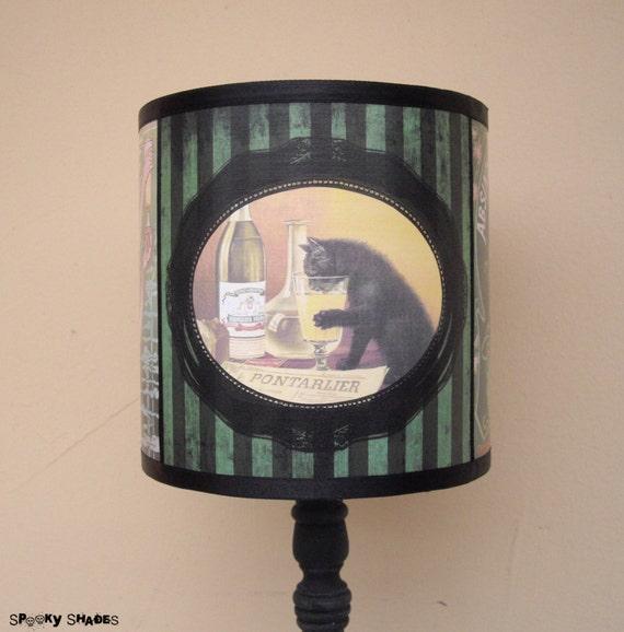 Absinthe Lamp Shade Lampshade Bohemian Decor Lighting