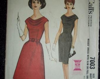 Western wedding dress pattern mccalls 8057 by nancesnostalgia for Cowl neck wedding dress pattern