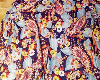 paisley blouse 1970s disco psychedelic 70s grunge mod boho mulitple maniacs polyester john waters seventies show