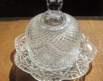 Vintage Avon Dome Butter Dish