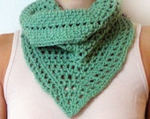 Lacy Tunisian Scarf - PDF Crochet Pattern - Instant Download