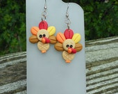 Thanksgiving Turkey Earrings