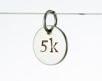5k Charm Sterling Silver
