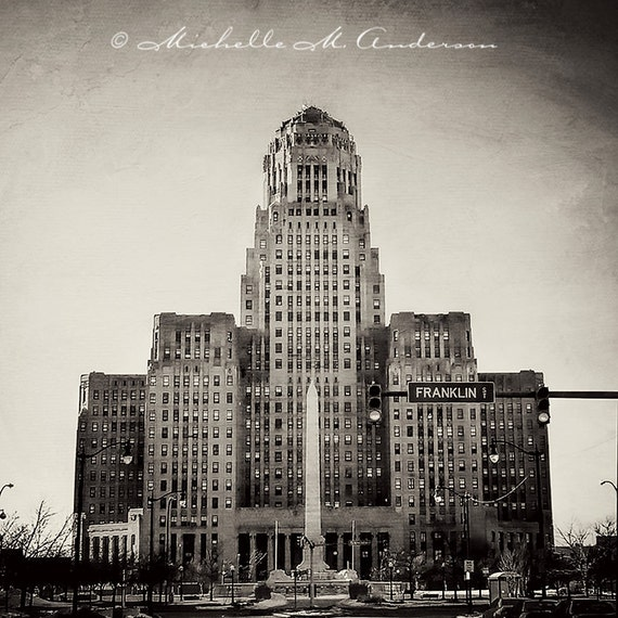 Art Deco Architecture Buffalo City Hall Black And By Math Wallpaper Golden Find Free HD for Desktop [pastnedes.tk]