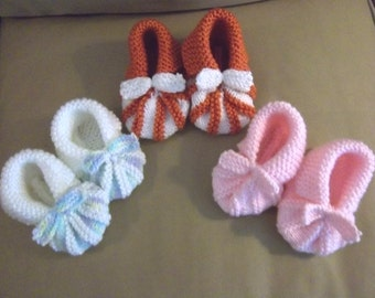 Shoes - Hand Knitted Baby Shoes