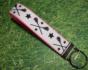Lacrosse, LAX, Key Fob Wristlet Style