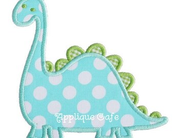 219 Dinosaur Machine Embroidery Applique Design