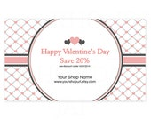 Printable Sales Promo Card - Valentines Day PS 2