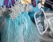 Frozen Elsa inspired wand ( one wand)