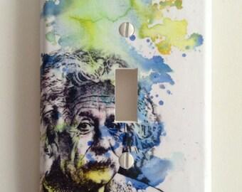 Albert Einstein Decorative Light Switch Plate Cover