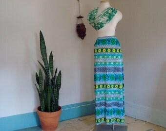 summertime maxi skirt small