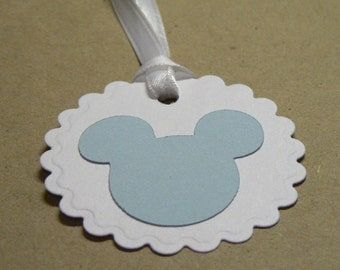 Baby Mickey Mouse Gift Favor Tags
