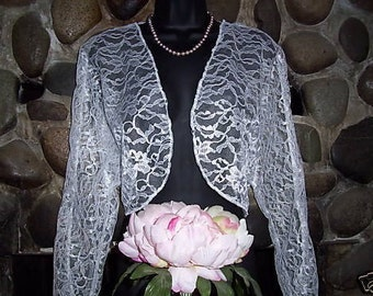 Lace bolero jacket Bridal Bolero Wedding jacket wedding bolero bridal shrug bridal jacket