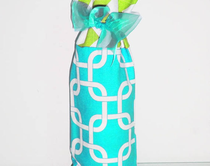 Wine Bag, Wine Sack, Wine Caddy, Baby Shower, Hostess Gift, Housewarming Gift, Party Favors