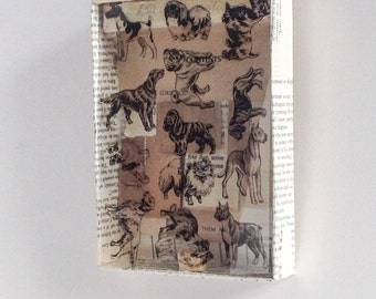 Fine Dog - Mixed Media assemblage of Dogs