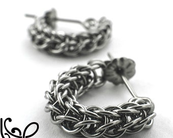 Swag Full Persian Chainmaille Earring Tutorial pdf
