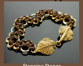 Stepping Stones Bracelet or Necklace PDF - Expert Tutorial