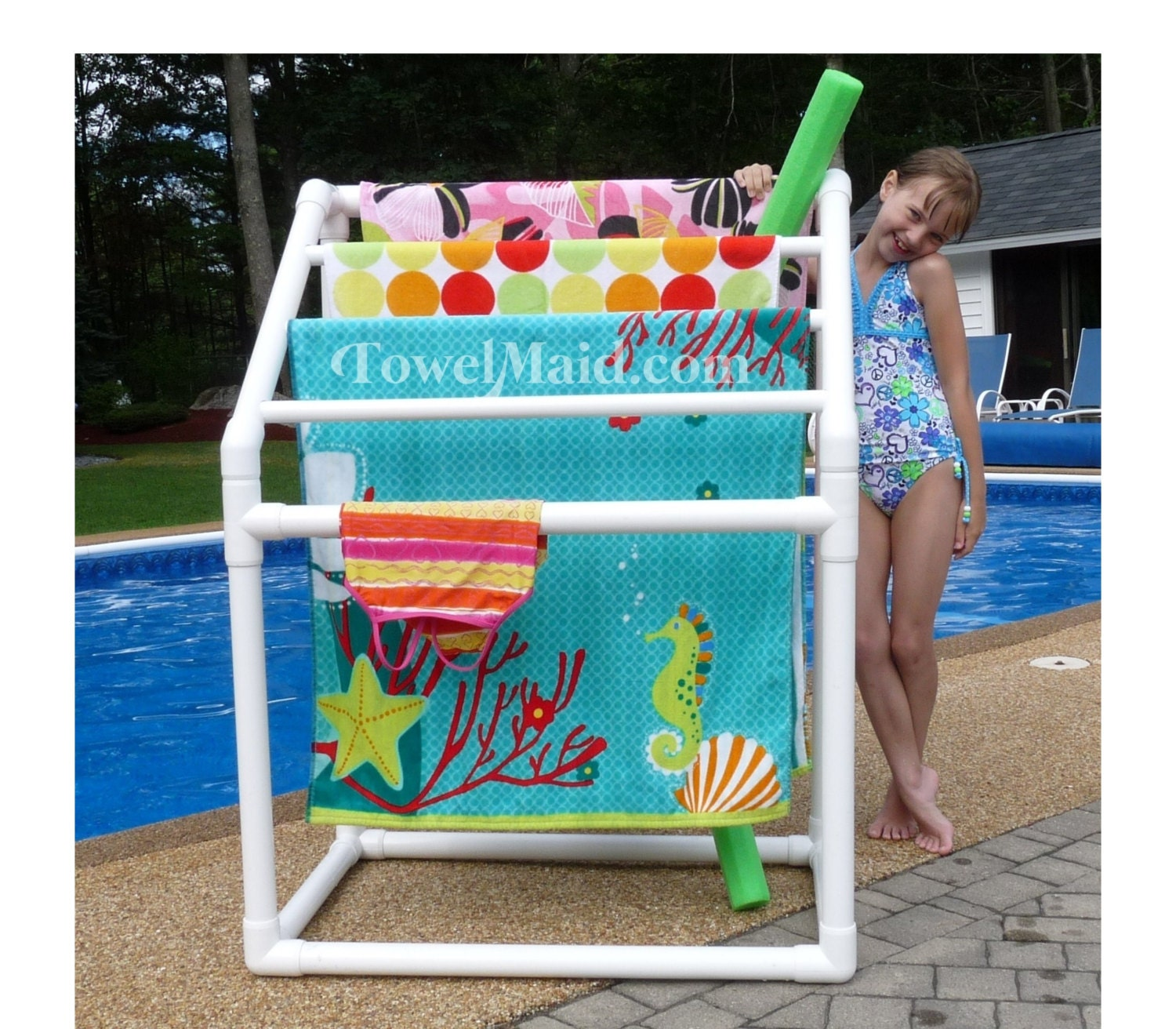 5 Bar Towelmaid Rack