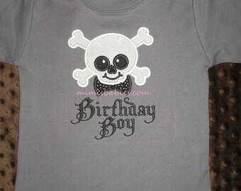 Punk Rocker Birthday Shirt