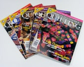 American Patchwork & Quilting Magazines 2000 lot of 5 sewing and craft magazines
