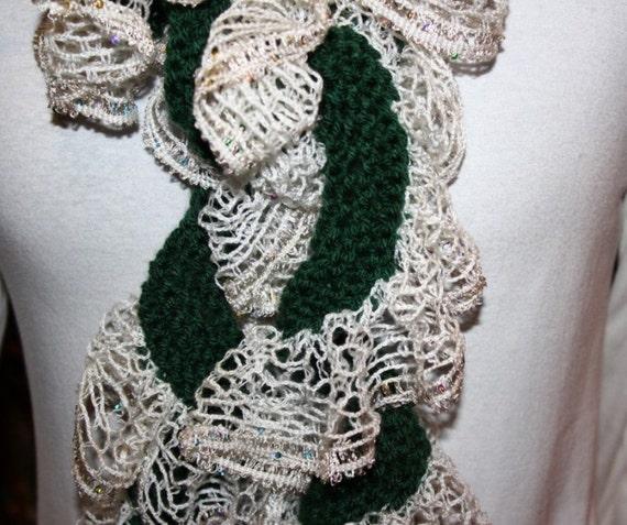Knit Spiral Scarf Pattern : Knitting Pattern Scarf Pattern Patterns for by KimberleesKorner