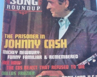 Johnny Cash, Country Song Round Up Magazine / 1971