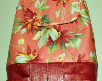 Great Hand Crafted Beauitful backpack-Messenger Back to School Sale.