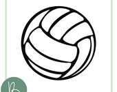 Volleyball SVG File