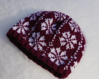 Winterberry Acrylic Child Hat