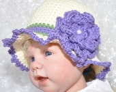 Cotton Baby  Summer Hat for 6 to 12 Months