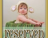 RESERVED for Heather