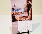 2014 Desk Calendar, Paris, with Stand, Lynn Cameron Photography