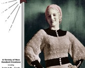 Fleisher's #18 c.1933 Fashion Patterns in Knitting and Crochet for Beach, Town & Country (PDF Ebook Digital Download) With Bonus Pages!