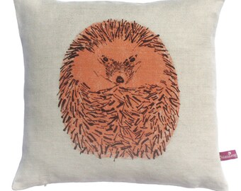 Hedgehog Round Cushion
